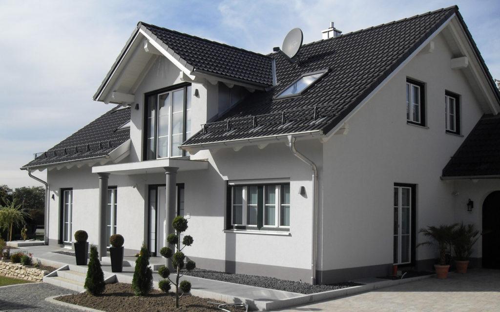 einfamilienhaus mit garage in fraunberg mayer bauplanung. Black Bedroom Furniture Sets. Home Design Ideas