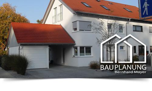 Doppelhaushälfte mit Garage und Carport in Ismaning