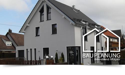 Anbau eines Einfamilienhauses an ein Bestandsgebäude in Ismaning