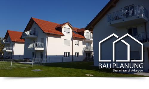 Errichtung von drei Mehrfamilienhäusern mit Tiefgarage